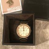 Michael Kors Jewelry   Michael Kors Chronograph Ritz Bracelet Watch   Color: Black   Size: Os