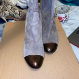 Nine West Shoes   Knee High Grey Tap Toe And Heel Style   Color: Gray   Size: 10