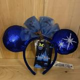 Disney Accessories   Minnie Main Attraction Peter Pan Ears   Color: Black   Size: Os