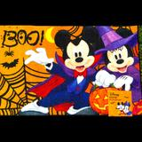 Disney Holiday | Halloween Disney Rug Vampire Mickey Witch Minnie | Color: Orange/Purple | Size: Os