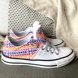 Converse Shoes   Converse Women'S Chuck Taylor All Star Madison Ox   Color: White/Gray   Size: 7