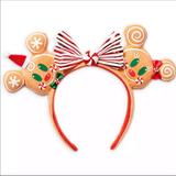 Disney Accessories   Disney Minnie Mouse Gingerbread Man Ears   Color: Silver   Size: Os
