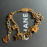 Louis Vuitton Jewelry | Lv Monogram Flower Blooming Chain Bracelet Gold | Color: Gold | Size: Os