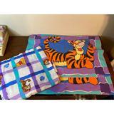 Disney Bedding   Disney Winnie The Pooh & Tigger Twin Flat Sheet &   Color: Black   Size: Twin