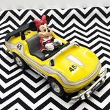 Disney Toys | 2$30 Vintage Disney Minnie Mouse Race Car | Color: Yellow/Gold | Size: Osbb