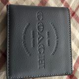 Coach Accessories   Coach Leather Id Wallet Leather   Color: Black   Size: Os