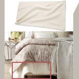 Ralph Lauren Bedding | Nib Ralph Lauren Cortona Bed Ribbed Knit Blanket In Cream [Sz King ] | Color: Cream | Size: King
