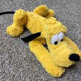 Disney Toys | Disney Exclusive Pluto 15 Plush Stuffed Toy | Color: Brown/Gold | Size: One Size