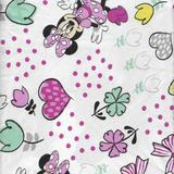 Disney Bedding | Disney Minnie Mouse Fitted Crib Sheet | Color: Silver | Size: Crib Fitted Sheet