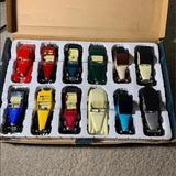 Disney Toys | Brand New Box Of Antique Cars Set Of 12 | Color: White/Silver | Size: Osb
