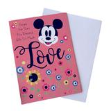 Disney Office | New Mothers Day Card- Mom From Son | Color: Pink | Size: Os