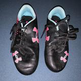 Under Armour Shoes | Girls Under Armor Soccer Cleats | Color: Black | Size: 2bb