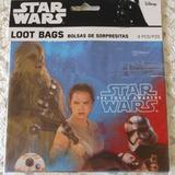 Disney Party Supplies | 3 Packages Star Wars Loot Bags Bundle | Color: Gray | Size: Os