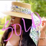 Gucci Accessories   Alba Vintage Sun Hat Outdoor Wedding Derby Fair   Color: Black   Size: Os