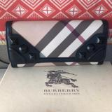 Burberry Bags | Authentic Burberry Wallet With 12 Card Holders. | Color: Black | Size: Os