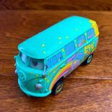 Disney Toys | Disney | Cars Filmore Hippie Van Diecast | Color: Blue/Silver | Size: Osb