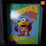 Disney Wall Decor | Groovy Minion 3d Shadow Box Picture | Color: Brown | Size: Os