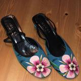Gucci Shoes   Authentic Gucci Closed Toe Mule With Heel Strap   Color: Brown   Size: 7