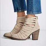Free People Shoes | New Free People Hybrid Womens Heel Ankle Boots | Color: Tan/Brown | Size: Various