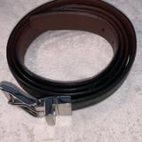 Polo By Ralph Lauren Accessories | Mens Leather Belt Two Colors Xxl (58 Inch Long) | Color: Black/Brown | Size: 58 Inches Long