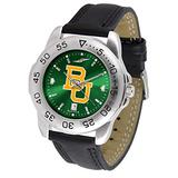 "Baylor Bears NCAA AnoChrome ""Sport"" Mens Watch (Leather Band)"