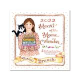 TF Publishing Calendars Multi - Susan Branch Heart of the Home 12-Month 2022 Wall Calendar