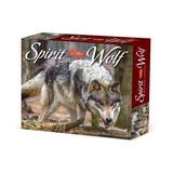 Willow Creek Press Calendars Various - Spirit of the Wolf Daily 2022 Box Calendar