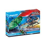 PLAYMOBIL Toy Building Sets - Police Parachute Search Toy Set