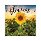 TF Publishing Calendars Multi - Flowers Mini 12-Month 2022 Wall Calendar