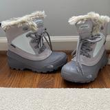 The North Face Shoes | Big Girls The North Face Snow Boots. Worn 1 Time And In Euc. Big Girls Size 5. | Color: Blue/Gray | Size: 5g