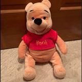 Disney Toys   Disney Large Winnie The Pooh Stuffed Toy   Color: Yellow   Size: Osbb