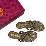 Tory Burch Shoes | Miller Welt Flip Flop | Color: Blue/Gold | Size: Various