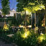 LEONLITE Low Voltage Hardwired Inground Led Well Light, 6w Grill Top, 3000k Warm White Aluminium/Metal in Black/Gray   Wayfair 21718