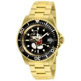 Invicta Disney Limited Edition Mickey Mouse Automatic Men's Watch - 40mm Gold (ZG-25107)