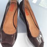 Michael Kors Shoes | Michael Kors Slides Peep Toe Shoes | Color: Gray | Size: 9.5