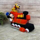 Disney Toys | Disney Mickey Mouse Train Plush | Color: Red | Size: Osbb