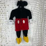 Disney Costumes | Disney Authentic Mickey Mouse 3d Costume | Color: Brown | Size: 18-24 Months