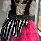 Disney Costumes | Disney Girls Pirate Costume | Color: Pink/White | Size: 6