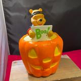 Disney Holiday | Halloween Winnie The Pooh Pumpkin | Color: Orange/Tan | Size: Os