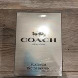 Coach Grooming | Coach Platinum Eau De Parfumerie 2oz. | Color: White/Silver | Size: 2 Fl.Oz.