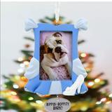 Disney Holiday | Cinderella Hallmark Pet Frame Ornament New | Color: Brown | Size: Os