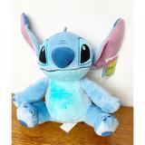 Disney Toys | Lilo & Stitch (11, Stitch Plush Toy) Stuffed Nwt | Color: Blue/Silver | Size: Approx 11