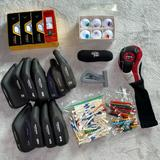 Nike Games | Bundle Lot Of Golf Balls Callaway Etc. , Tees, Pencils, & Club Covers Castle Bay | Color: Gray | Size: Os