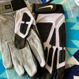 Nike Accessories   Nike D-Tack Iv Leather Football Gloves   Color: Tan/Cream   Size: Xxxl