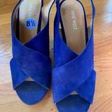 Nine West Shoes   Nine West Macadamia Platform Wedge Sandals (8.5m)   Color: Purple   Size: 8.5