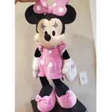 Disney Toys   Disney Minnie Mouse Soft Plush Toy Stuffed   Color: Pink   Size: Osbb