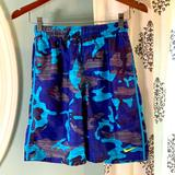 Nike Swim | Nike Boys Swim Trunks Size M | Color: Blue/Gray | Size: Mb