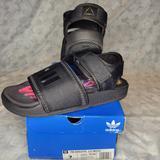 Adidas Shoes   Adidas Pw Adilette 2.0 Black Sz. M 7   Color: Black   Size: 7