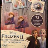 Disney Toys | Disney Frozen 2 Memory Match Game | Color: Black/Purple | Size: Osg