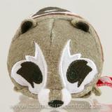 Disney Toys   Marvel Rocket Roccoon Tsum Tsum Mini Plush   Color: Tan/Brown   Size: Osbb